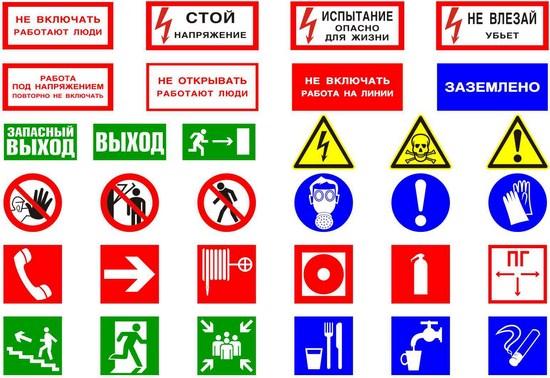 Знаки безопасности по охране труда по электробезопасности присвоение первой групп по электробезопасности